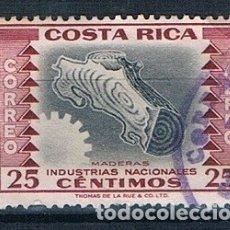 Sellos: COSTA RICA 1954 MICHEL 495 USADO. Lote 175809162