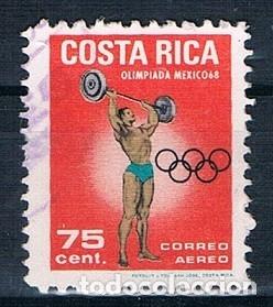 COSTA RICA 1969 MICHEL 753 USADO (Sellos - Extranjero - América - Costa Rica)