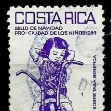 Sellos: COSTA RICA SCOTT: RA101 (IMPUESTO POSTAL) (NAVIDAD'84) USADO. Lote 182720568