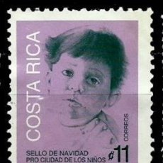 Sellos: COSTA RICA SCOTT: RA113 (IMPUESTO POSTAL) (NAVIDAD'94) USADO. Lote 182720841