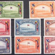 Sellos: COSTA-RICA. MH *YV 190/97. 1941. SERIE COMPLETA. MAGNIFICA. YVERT 2013: 190 EUROS. REF: 43040. Lote 183123992