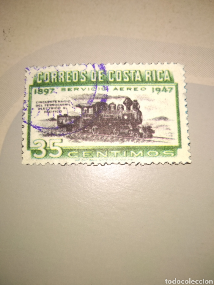 SELLO CORREOS COSTA RICA (Sellos - Extranjero - América - Costa Rica)