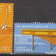 Sellos: COSTA RICA Nº 1671/2, INSTRUMENTOS MUSICALES DE GUANACASTE, NUEVO *** EN HOJA BLOQUE CON DOS SERIES. Lote 183719991