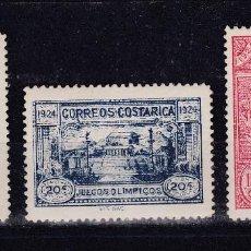 Sellos: COSTA RICA.- SELLO Nº 133/35 TEMÁTICA OLIMPICA NUEVOS CON HUELLA.. .. Lote 184753441