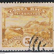 Sellos: COSTA RICA // YVERT 5 // 1907 ... TELEGRAFOS ... USADO. Lote 190985155