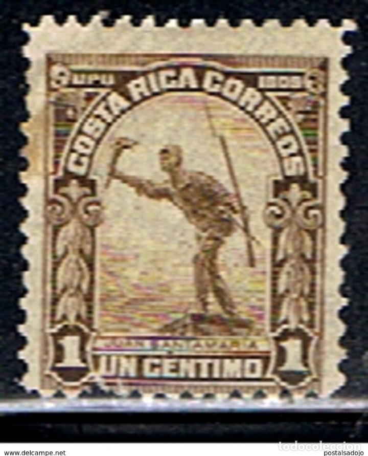 COSTA RICA // YVERT 65 // 1910 ... USADO (Sellos - Extranjero - América - Costa Rica)