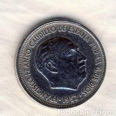 Francobolli: 5 PESETAS FRANCO.- 1957*65.- (1). Lote 199638627