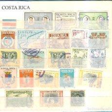 Sellos: LOTE DE SELLOS DE COSTA RICA. Lote 202347371