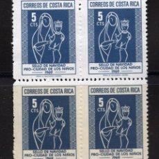 Sellos: COSTA RICA 1969 MNH, BLOQUE MICHEL Z45. Lote 209929630
