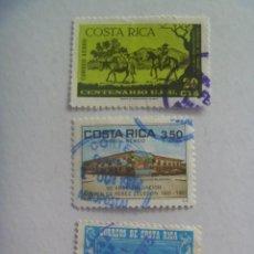 Sellos: LOTE DE 3 SELLOS DE COSTA RICA. Lote 210355463