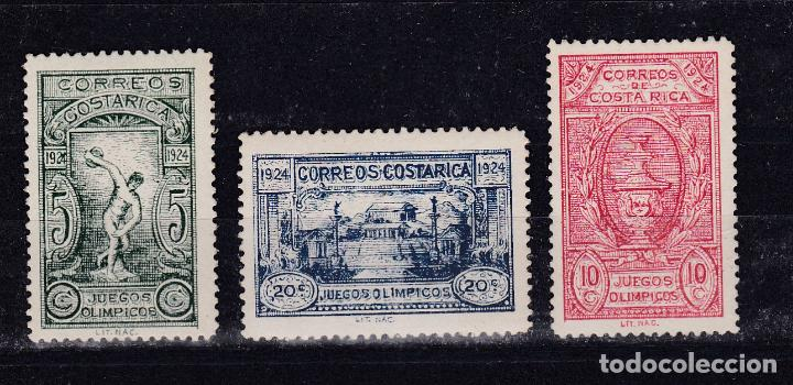 COSTA RICA.- Nº 133/35 OLIMPICOS NUEVOS SIN CHARNELA. (Sellos - Extranjero - América - Costa Rica)