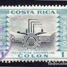Sellos: AMÉRICA. COSTA RICA. INDUSTRIAS NACIONALES. USADO SIN CHARNELA. Lote 223083676