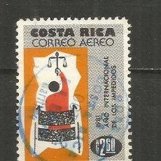 Sellos: COSTA RICA CORREO AEREO YVERT NUM. 836 USADO. Lote 236237420