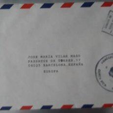 Sellos: SOBRE CIRCULADO COSTA RICA ESPAÑA SELLO FRANQUEO PAGADO OFICINA FILATÉLICA. Lote 247741055