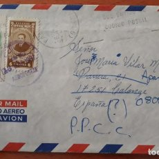 Sellos: 3 CARTAS ORDINARIAS CIRCULADAS COSTA RICA ESPAÑA SELLOS REEXPEDIDAS. Lote 248677220