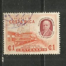 Francobolli: COSTA RICA CORREO AEREO YVERT NUM. 281 USADO. Lote 254727070