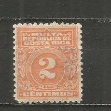 Sellos: COSTA RICA IMPUESTOS YVERT NUM. 9 USADO. Lote 254731345