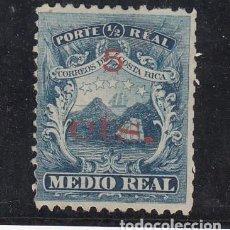 Sellos: COSTA RICA REPÚBLICA ..8 SIN GOMA, ESCUDO. Lote 254885045