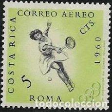Sellos: COSTA RICA AÉREO YVERT 305 NUEVO CON GOMA Y CHARNELA, DEPORTES. Lote 264173872