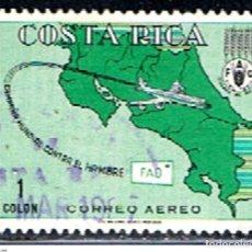 Sellos: COSTA RICA // YVERT 396 AEREO // 1965 ... USADO. Lote 277643888