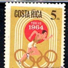 Sellos: COSTA RICA // YVERT 397 AEREO // 1965 ... USADO. Lote 277643998