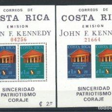 Sellos: COSTA RICA BLOC N°8* (MH) N. DENTELÉ ET DENTELÉ 1965 - JOHN F. KENNEDY. Lote 287664813