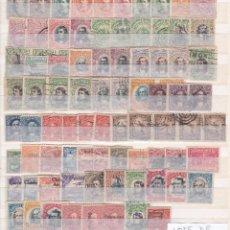 Sellos: MAGNIFICO LOTE DE 80 SELLOS USADOS DE REPUBLICA DE COSTA RICA HASTA LOS AÑOS 40. Lote 289856293