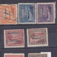 Sellos: FC3-209- COSTA RICA YT 41/50 NUEVOS * Y USADOS . BUENA CALIDAD. Lote 293772473