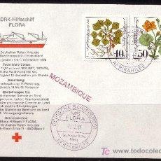 Sellos: ALEMANIA - AÑO 1981 - CRUZ ROJA ALEMANA AYUDA A MOZAMBIQUE. Lote 5294360