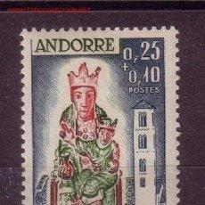 Sellos: ANDORRA 172** - AÑO 1964 - PRO CRUZ ROJA - VIRGEN DE LOS REMEDIOS. Lote 26809167