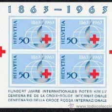 Sellos: SUIZA AÑO 1963 YV HB 19*** CENTº DE LA CRUZ ROJA INTERNACIONAL - MEDICINA - SALUD. Lote 26604271
