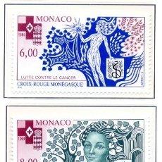 Sellos: MONACO 1994 - CRUZ ROJA - YVERT 1960/61. Lote 26748055