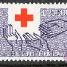 Sellos: FINLANDIA AÑO 1963 YV 551/53* CENTENARIO DE LA CRUZ ROJA INTERNACIONAL - MANOS. Lote 15694377