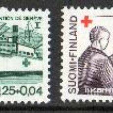 Sellos: FINLANDIA AÑO 1964 YV 561/64* CRUZ ROJA - NIÑOS - BARCOS - SALVAMENTO - MEDICINA - SALUD. Lote 18098258