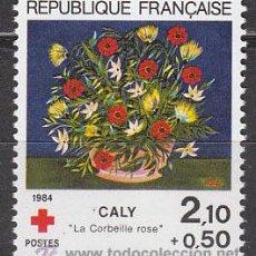 Sellos: FRANCIA IVERT Nº 2345, CRUZ ROJA: CUADRO DE CALY, NUEVO. Lote 98188536