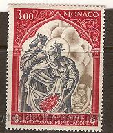 SELLO DE MONACO TEMA CRUZ ROJA YVERT 788 AÑO 1969 GOMA ALTERADA (Sellos - Temáticas - Cruz Roja)