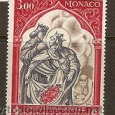 Sellos: SELLO DE MONACO TEMA CRUZ ROJA YVERT 788 AÑO 1969 GOMA ALTERADA . Lote 17689967
