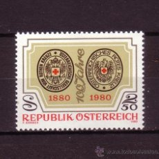 Sellos: AUSTRIA 1463*** - AÑO 1980- CENTENARIO DE LA CRUZ ROJA AUSTRIACA. Lote 27083912