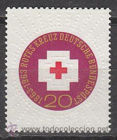 ALEMANIA IVERT Nº 0272, CENTENARIO DE LA CRUZ ROJA, NUEVO (Sellos - Temáticas - Cruz Roja)