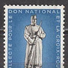 Sellos: SUIZA IVERT 353, CRUZ ROJA 1940, MONUMENTO A LAS TROPAS DE FRONTERA 1ª GUERRA MUNDIAL, NUEVO. Lote 89729504