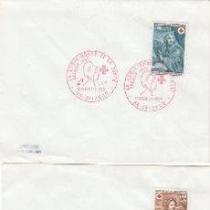 Sellos: FRANCIA IVERT 1619/20, CRUZ ROJA 1969 (CUADROS DE MIGNARD, INVIERNO Y VERANO), PRIMER DIA 13-12-1969. Lote 34012874