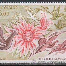Sellos: MONACO 1247, CRUZ ROJA MONEGASCA, NUEVO ***. Lote 98199863