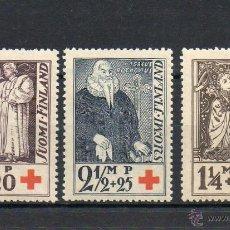 Sellos: FINLANDIA=YVERT Nº 173/75=CRUZ ROJA=AÑO 1933=CATALOGO: 6 EUROS. Lote 48418254
