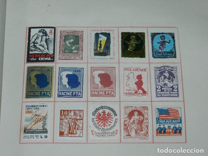 Sellos: (M) LOTE DE 1266 VIÑETAS DE SANIDAD , CRUZ ROJA , ESPERANTO , INFANCIA Y AYUDA A LOS CIEGOS - Foto 16 - 93601480