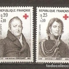 Sellos: FRANCIA. 1964. YV Nº 1433,1434. Lote 99865195