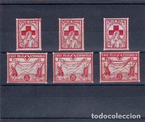 ESPAÑA REPUBLICA.AÑO 1937.GUERRA CIVIL. (Sellos - Temáticas - Cruz Roja)