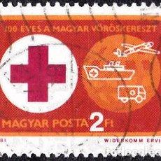 Sellos: 1981 - HUNGRIA - CENTENARIO CRUZ ROJA HUNGARA - YVERT 2762. Lote 141242718