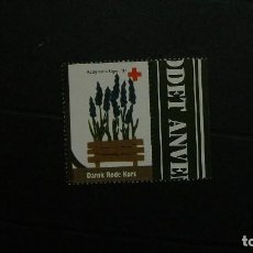 Sellos: DINAMARCA-1997-CRUZ ROJA-VIÑETA DE FANTASIA-FLORA. Lote 151042818