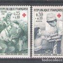 Sellos: FRANCIA Nº 1508/1509** CRUZ ROJA. SERIE COMPLETA. Lote 159832826