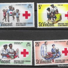 Timbres: ST. VICENTE Nº 281 AL 284 (**). Lote 160833962